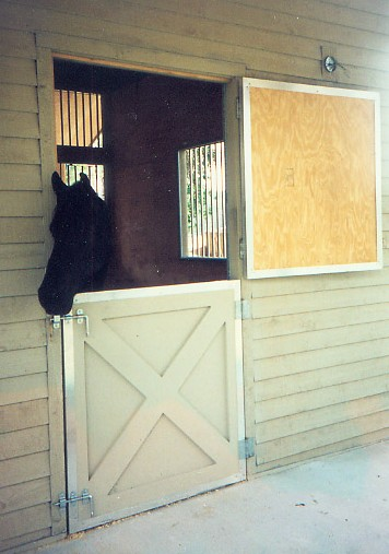 Dutch door horse barn dutch doors for Window horses